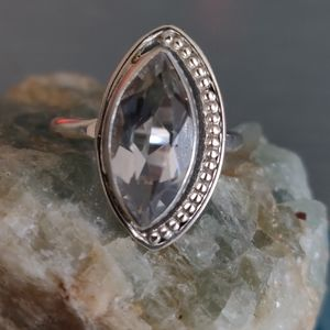Jewelry - Topaz Sterling Silver Ring